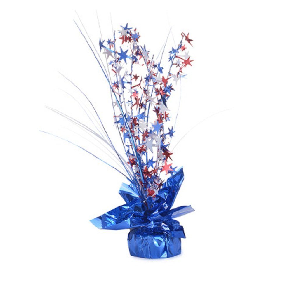 Darice 4th of July Table Red White and Blue Home Decoration