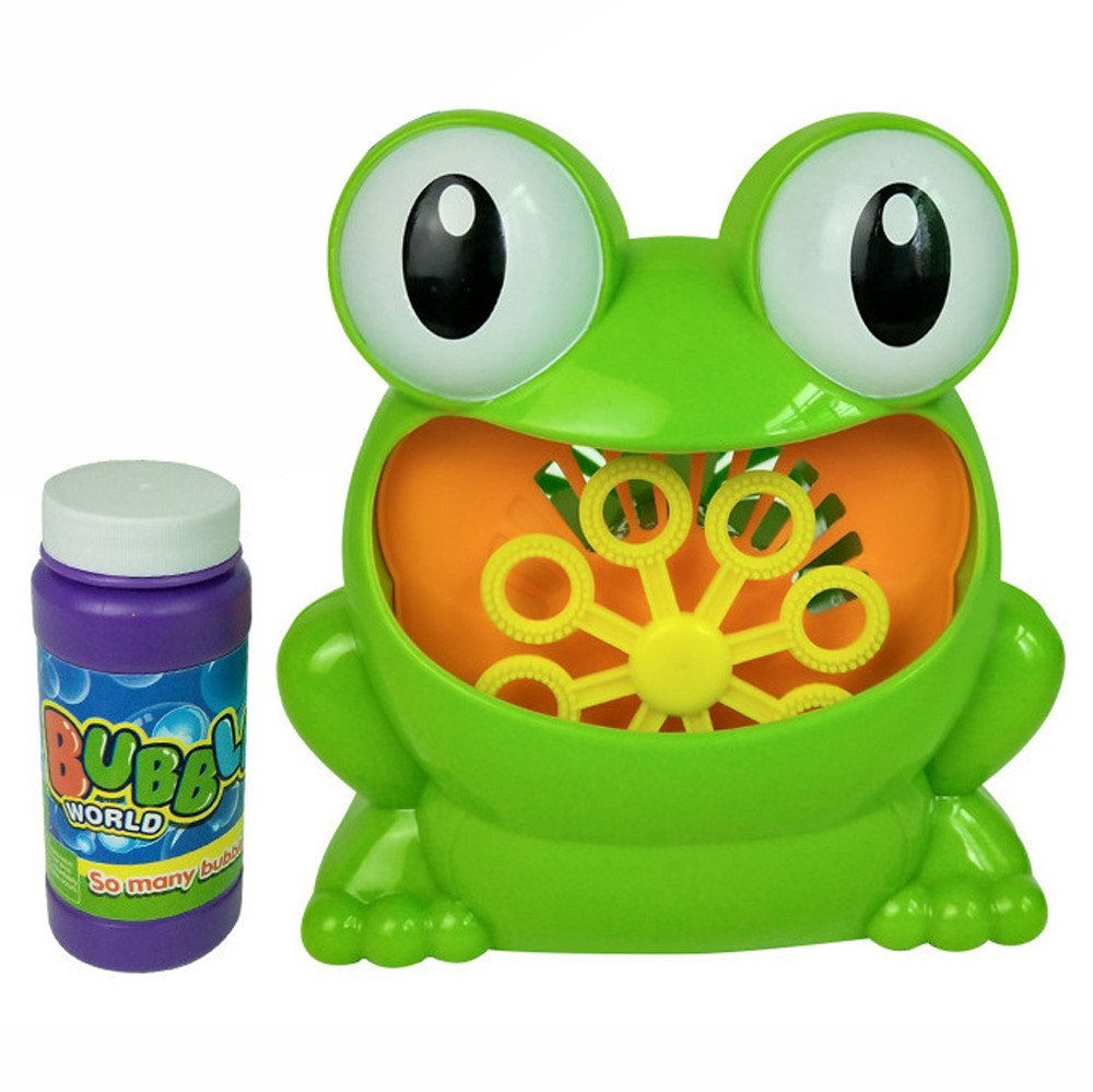 Cute Frog Automatic Bubble Machine Toys Vovotrade Blower Maker Party Summer Outdoor Funny Toy for Kids And Baby Vovotrade-Baby Toy