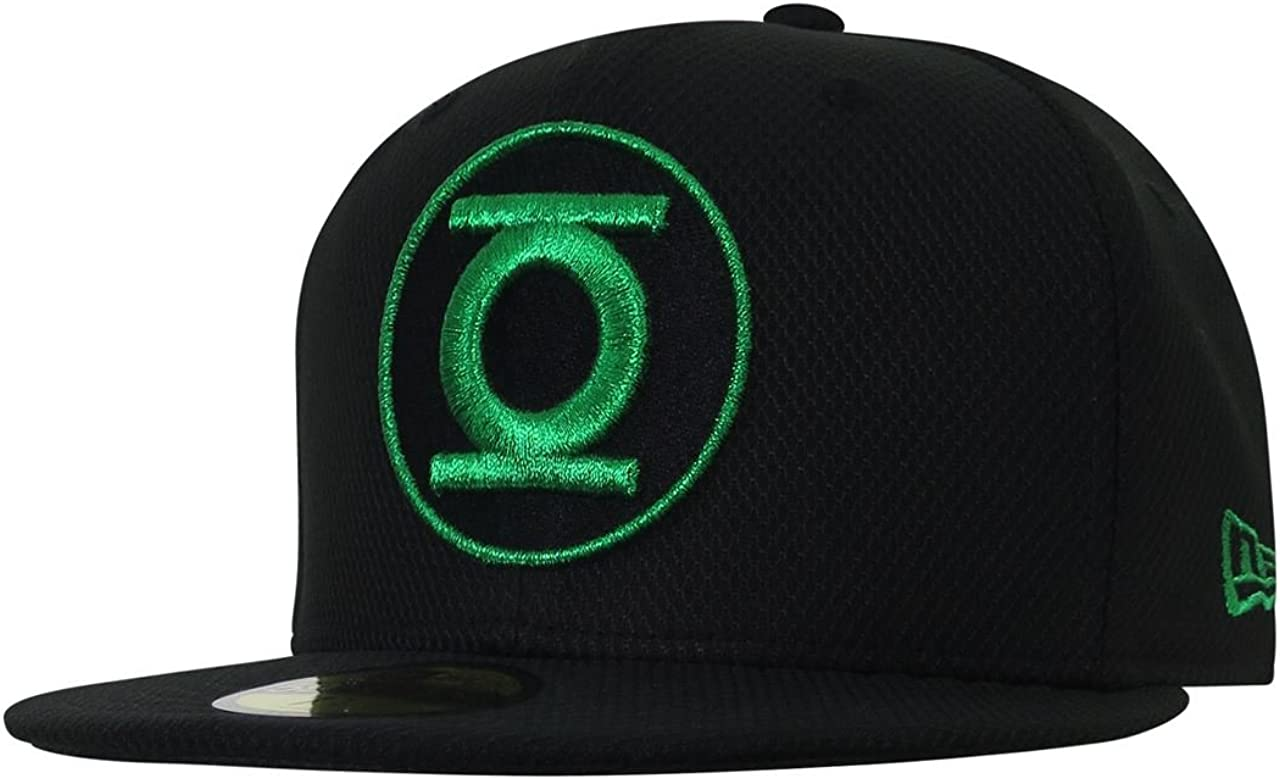 Green Lantern Symbol Black 59Fifty Cap