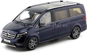 Norev 2017 Mercedes-Benz Monovolumen Clase V Azul Navy 1:18 Dealer Edition B66004155: Amazon.es: Juguetes y juegos