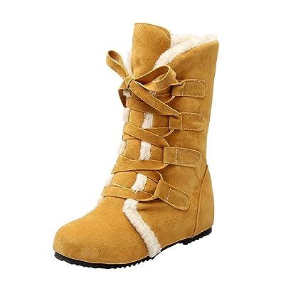 Fermeture Éclair Hiver Femme Chaussures Rbnb Boots Chaudes Low XIpXTfn