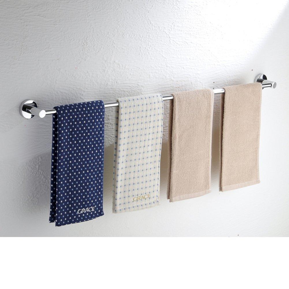 Stainless steel Towel rack/Lengthening bathroom Bathroom Towel Bar/ bathroom accessories-F durable modeling