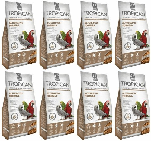 Tropican Alternative Formula Granules Parrot Food 32lb (8 x 4lb) by Hari