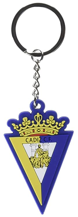 Cádiz CF- Llavero rubber, Multicolor (CYP KR-01-C): Amazon ...
