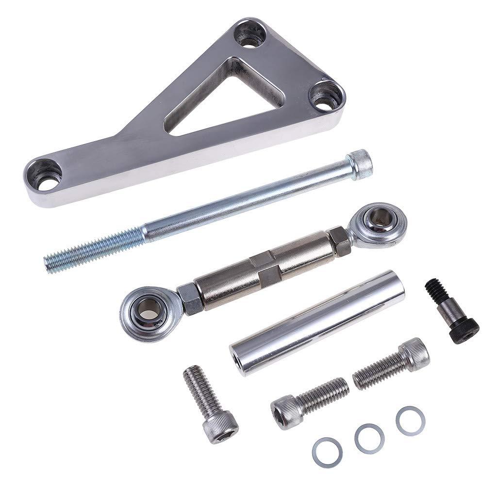 Top Street Performance JM9102P Polished Aluminum Alternator Bracket Kit