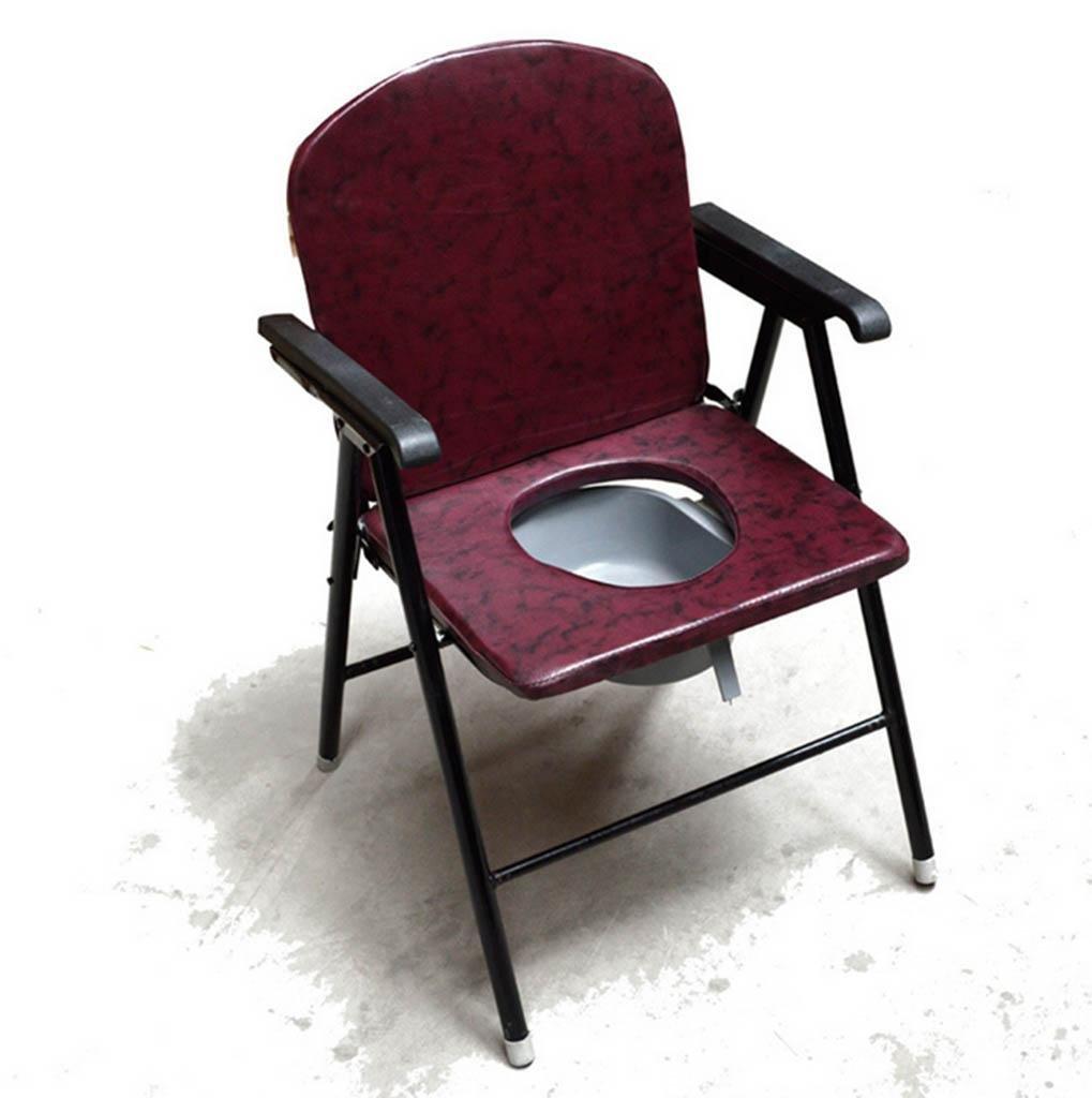 Toelit 椅子の座席、Natood の金属の便座の腰掛け妊婦のための洗面所の移動年長者、52 * 56 * 86cm B07DL34152