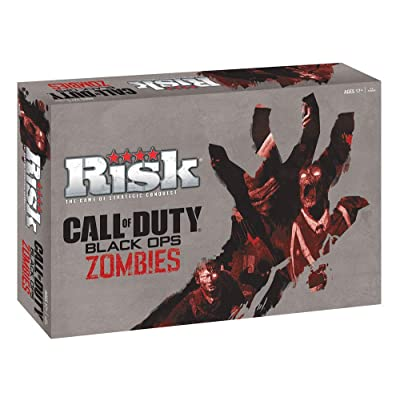 Risk Call of Duty Zombies Strategy Board Game | Classic Risk Game Based on Call of Duty Video Games: Toys & Games