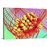 Canvas on Demand Premium Thick-Wrap Canvas Wall Art Print entitled Manual bingo machine, low angle view 24''x16''