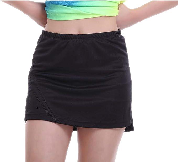 DEER HOUSE Falda de Tenis para Mujer con pantalón Corto Ligero ...