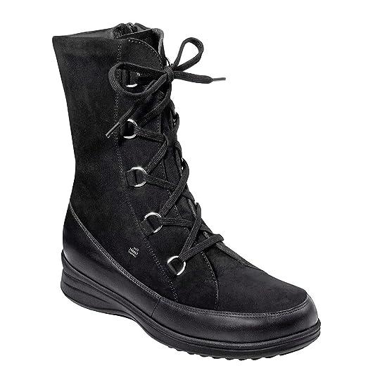 Womens Black Boots Finn Sterzing Nappa Nubuck