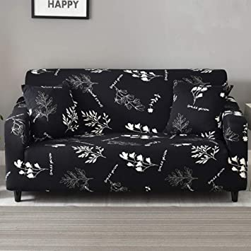 Strange Ihoming Printed Stretch Sofa Slipcover Loveseat Slipcover Couch Slipcover With 2 Free Pillow Covers 2 3 4 Seat Sofa Covers Sofa 4Seat Magnolia Unemploymentrelief Wooden Chair Designs For Living Room Unemploymentrelieforg
