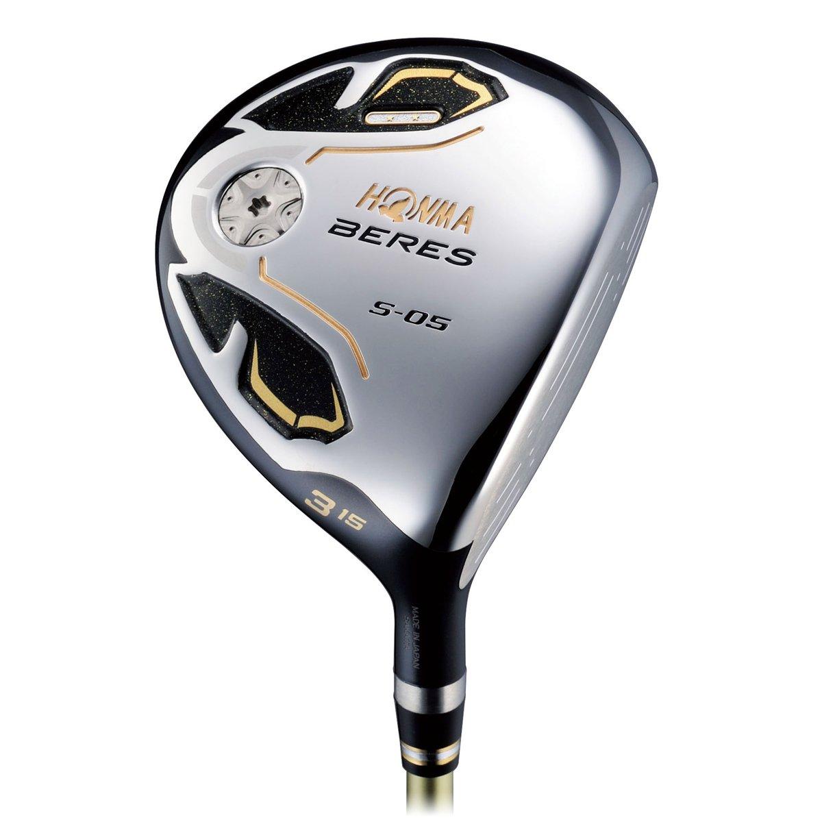 セール 登場から人気沸騰 本間ゴルフ フェアウェイウッド BERES ベレス S-05 フェアウェイウッド 3W(15度) 2Sグレード ARMRQ∞ 48シャフト フレックス:R S-05S15 右 ロフト角:15度 番手:3W   B01BK5H0QA, 北足立郡 57fa5f66