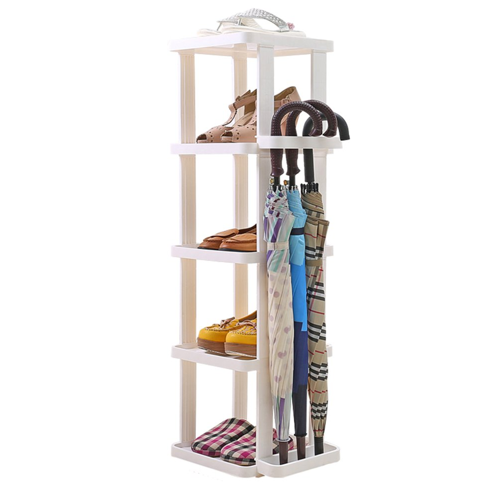 Shoes rack Plastic Household Hotel Umbrella Storage Rack Simple Space Saving Small at The Door