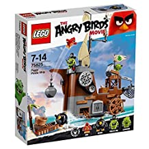 Pirate ship of Lego Angry Bird piggy 75825 [parallel import goods]