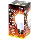 アイリスオーヤマ LED電球 口金直径26mm 40W形相当 電球色 広配光タイプ 密閉器具対応 LDA5L-G-4T4