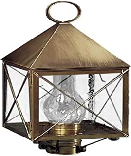 product image for Brass Traditions 510 SXAB Large Post Lantern 500 Series, Antique Brass Finish 500 Series Post Lantern
