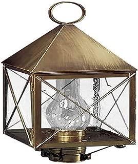 product image for Brass Traditions 510 SXDB Large Post Lantern 500 Series, Dark Brass Finish 500 Series Post Lantern