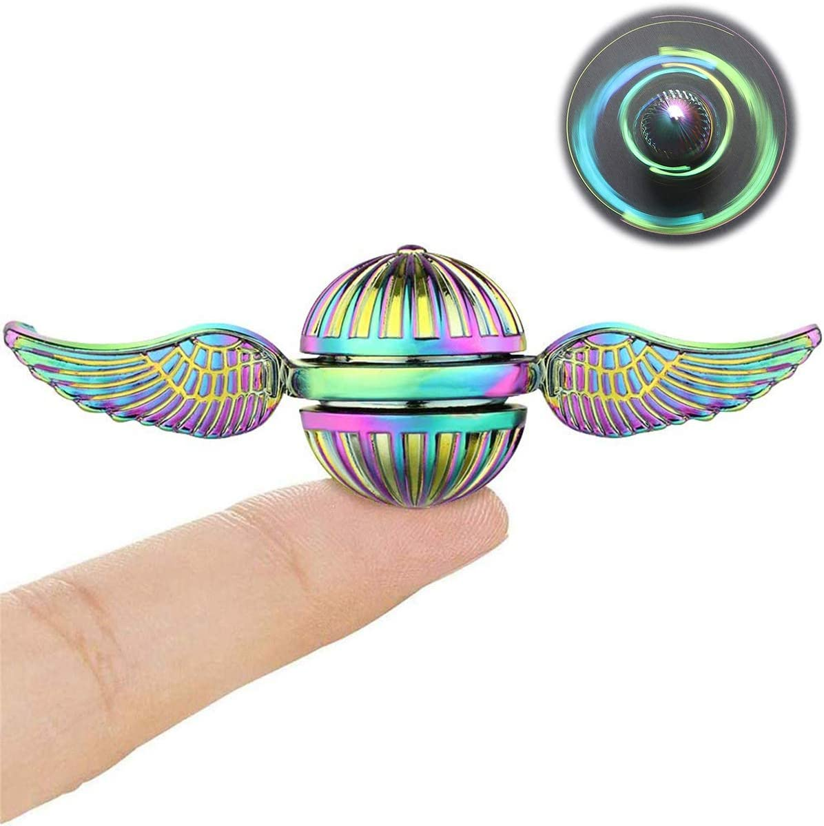 FIDGET Spinner Finger Hand Spin Metal//Ball Steel Stress Relax Toy Special Offer