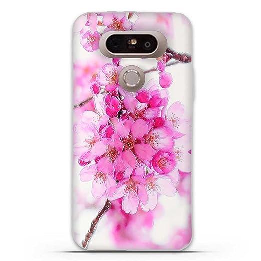7 opinioni per LG G5 Cover, Fubaoda 3D Rilievo Bel fiore UltraSlim TPU Skin Cover Protettiva