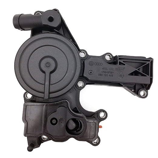 Separador de aceite Válvula PCV ajuste para Audi A3, A4 y A5 TT Q5 Volkswagen GTI Tiguan Jetta EOS CC PASSAT BEETLE 2.0TSi, L4 06h103495b2 (1 año de ...