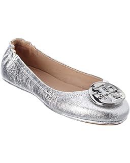 f63f42f2da1fc7 Tory Burch Reva Shoes Ballet Minnie Travel Flats Soft Naplak Leather TB Logo  (8