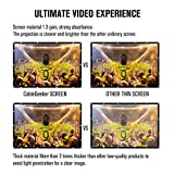 """Projection Screen 120"""" inch 16:9 Movie Screen HD"""