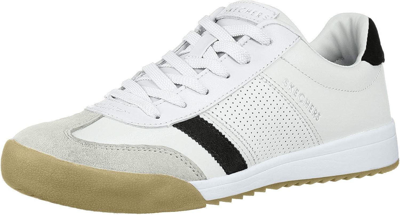Skechers Women's Zinger Retro Rockers Sneakers, White (White