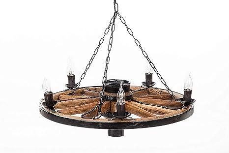 Plafoniere Vintage Prezzi : Own design tradizionale rustico autentico vintage ▾ di legno ruota