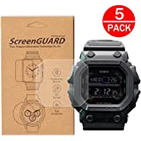 [5-Pack]For Casio GX-56BB Watch Screen...