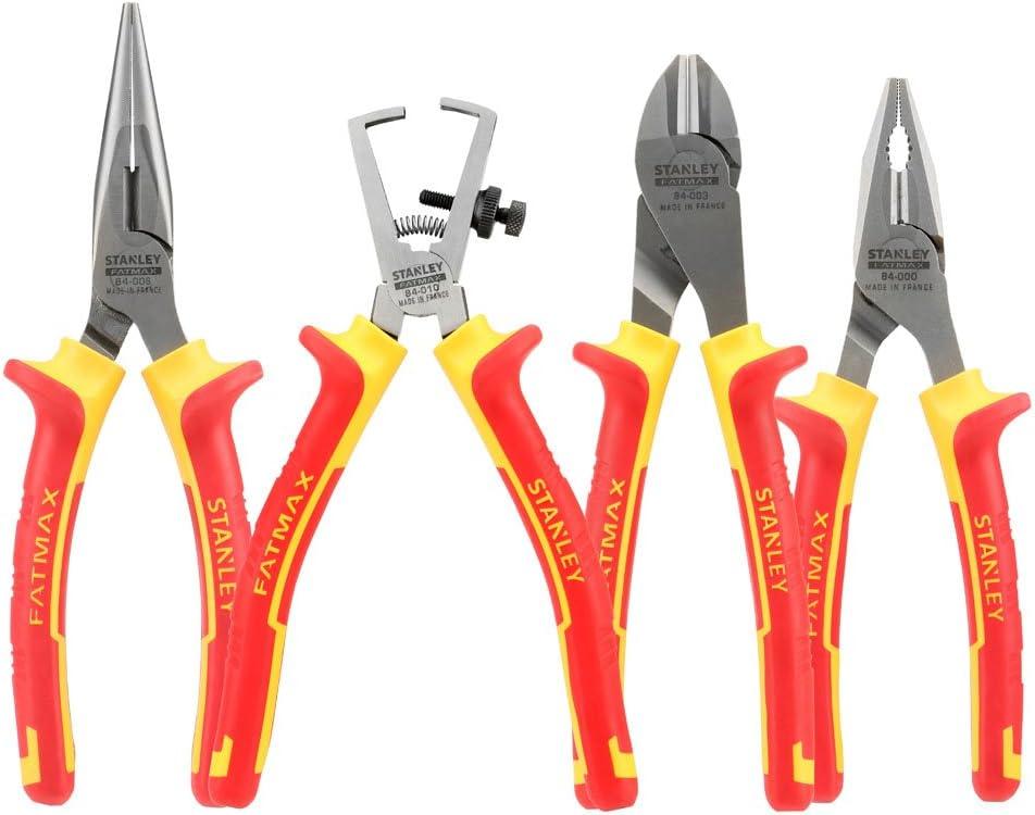Stanley 4-84-489 Alicates, Red//ellow, Set de 4 Piezas: Amazon.es: Bricolaje y herramientas