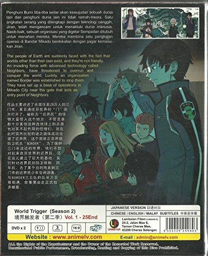 WORLD TRIGGER (SEASON 2) - COMPLETE TV SERIES DVD BOX SET ( 1-25 EPISODES )