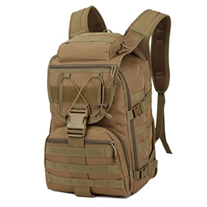 QPYC Mochila mochila mochilas paquete táctico bolso de camuflaje multi-funcional mochila de ataque taladro