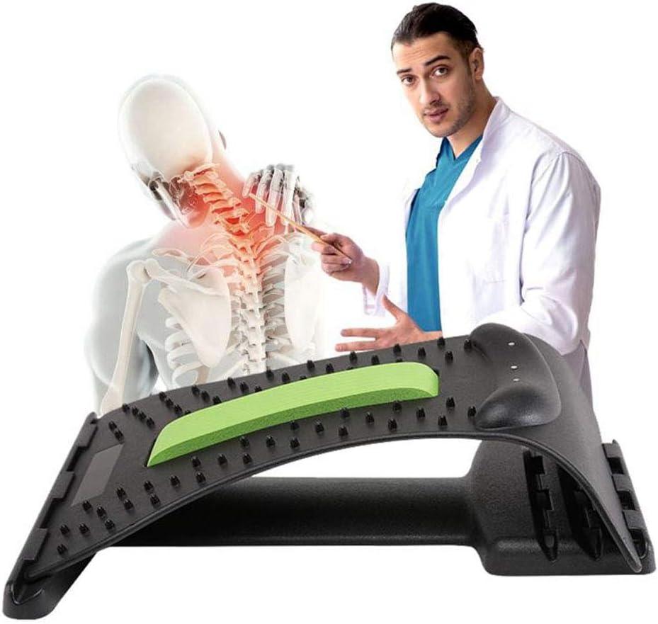Cojín ortopédico para espalda Corrección de postura, cuello y hombros, relajador cervical, alivio y soporte y hombros, relajante, almohada de tracción cervical