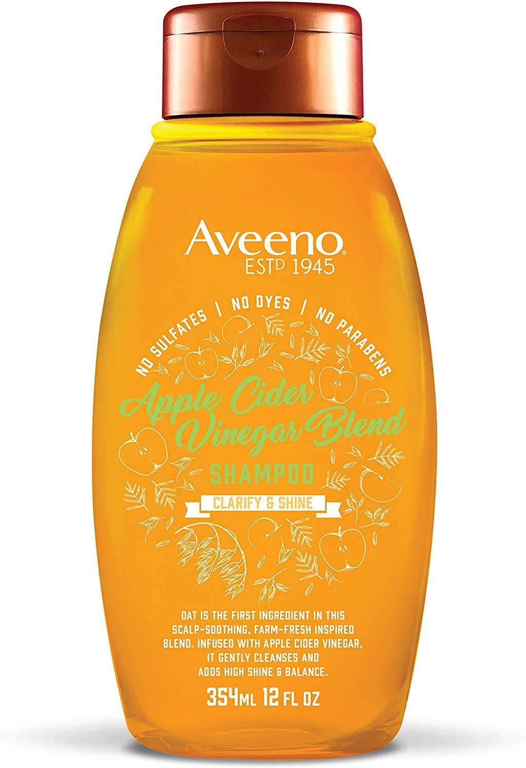 Aveeno Scalp Soothing Shampoo, Apple Cider Vinegar Blend 12 Fl Oz