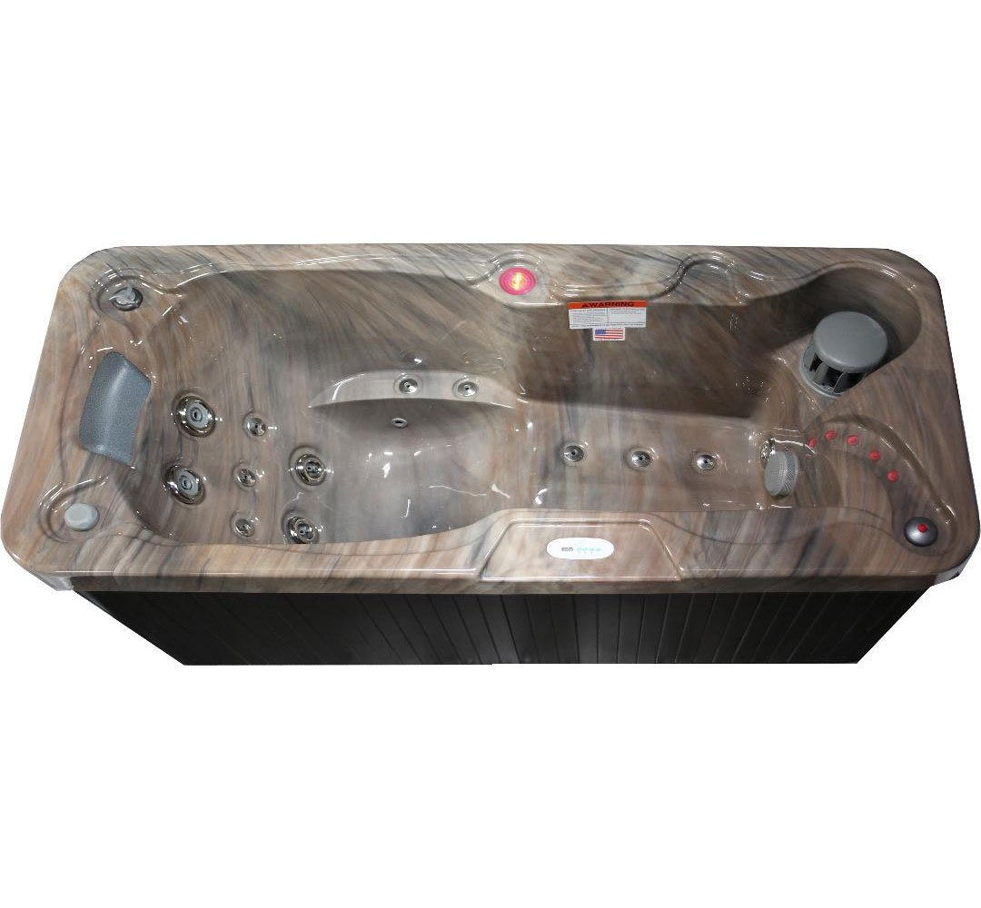 Hudson Bay Spas 1 Person 19 Jet with Stainless Jets and 110V GFCI Cord