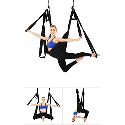 Amazon.com : Minions Boutique Anti-Gravity Aerial Yoga Swing ...