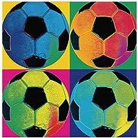 Zerama Pinturas al óleo del fútbol del fútbol