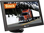SIXGO GPS Navigation for Car 9 Inch HD Touch Screen Truck