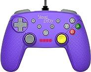 Controle com fio Gcube Purple/switch - Nintendo_switch