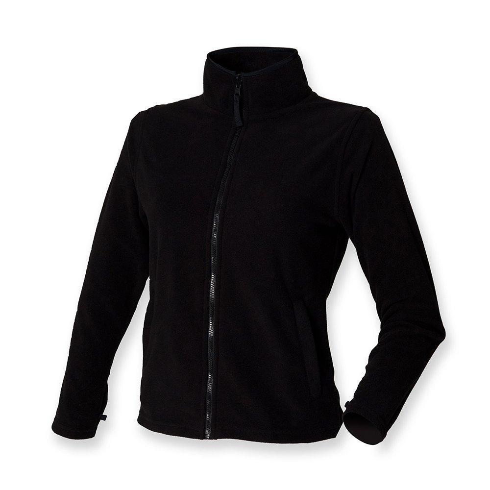 Henbury Mujer Micro chaqueta de forro polar: Amazon.es: Ropa ...