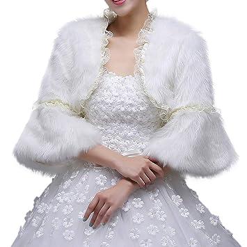 Chal Bufanda para Mujer y niña, Abrigo de Invierno cálido Abrigo de Las Mujeres Blanco