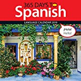 365 Days to Spanish 2019 Wall Calendar