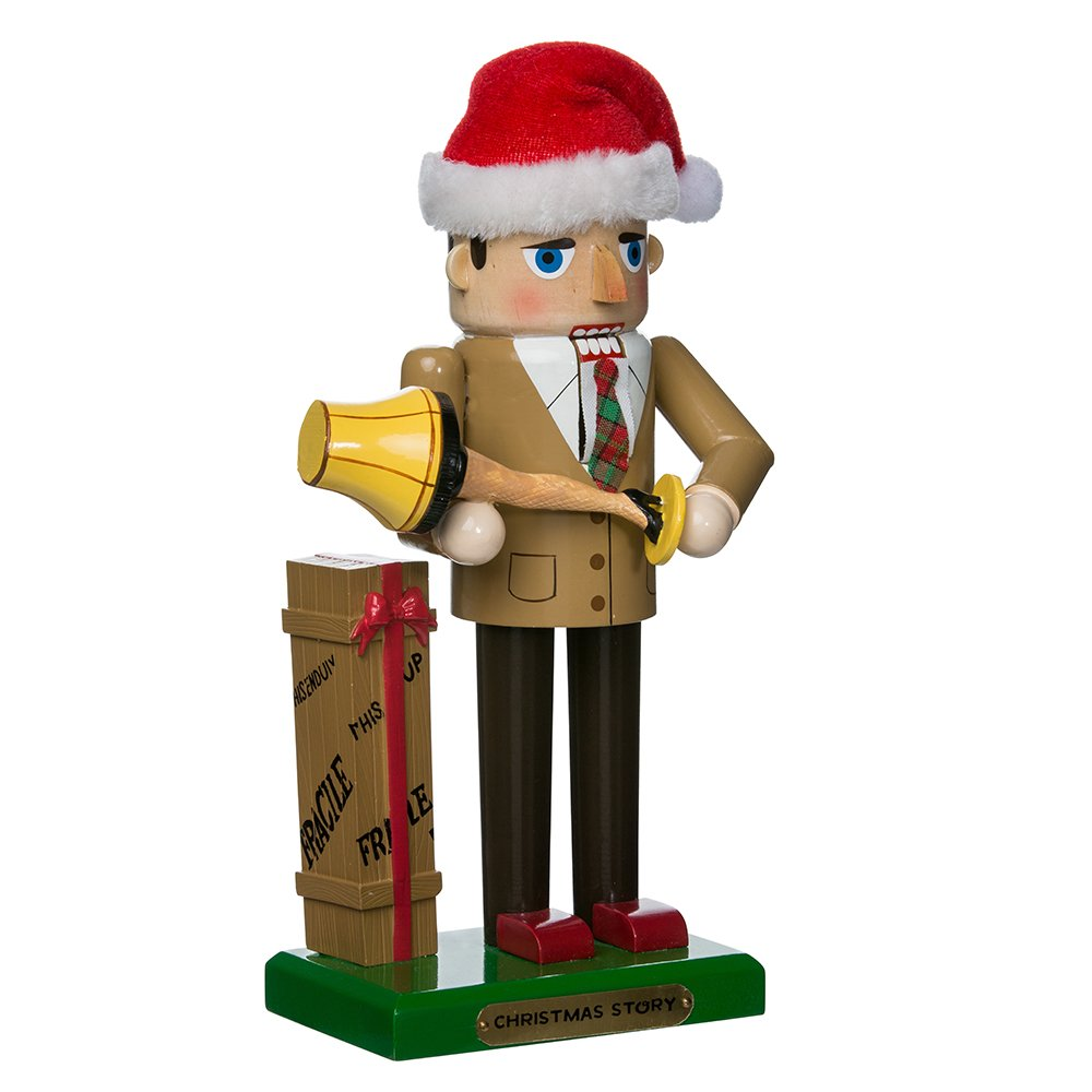 Kurt Adler 11'' A Christmas Sotry Mr. Parker with Leg Lamp Nutcracker