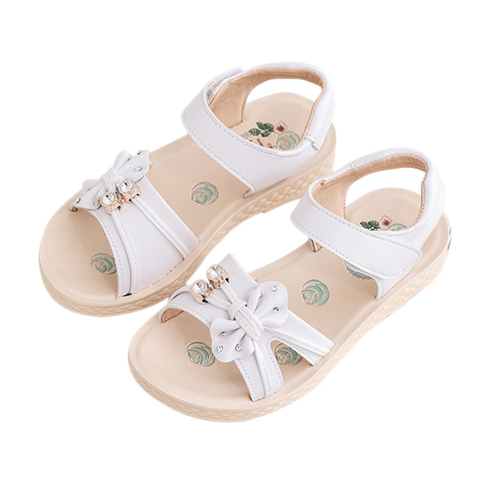 iFANS Girl Bow-Knot Shoes Children Sandals