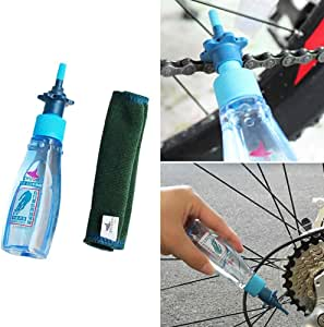 LOVEYue - Aceite lubricante para cadena de bicicleta, 60 ml, perfecto accesorio para bicicleta, multicolor: Amazon.es: Deportes y aire libre