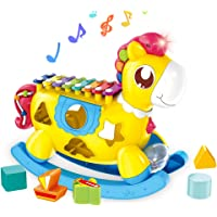 Ancaixin Musical Pony Toy for 18 Month and Up Baby Boy/Girl