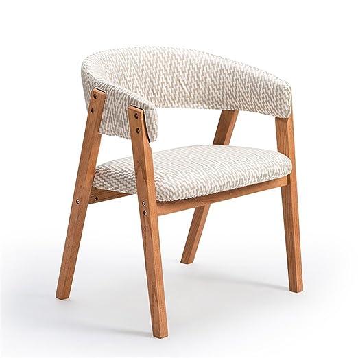 YAnFAn & Sillas Conciso moderno Sillón de madera con ...