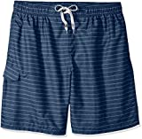 Kanu Surf Men's Echelon Swim Trunks (Regular & Extended Sizes), Line Up Navy, 4X