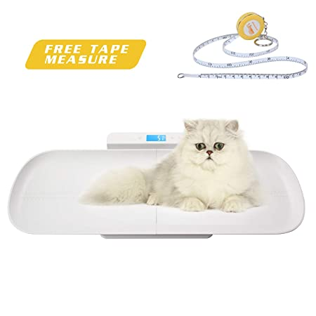 Amazon.com: BYKAZATY Pet Scale with Tape Measure, Multi ...