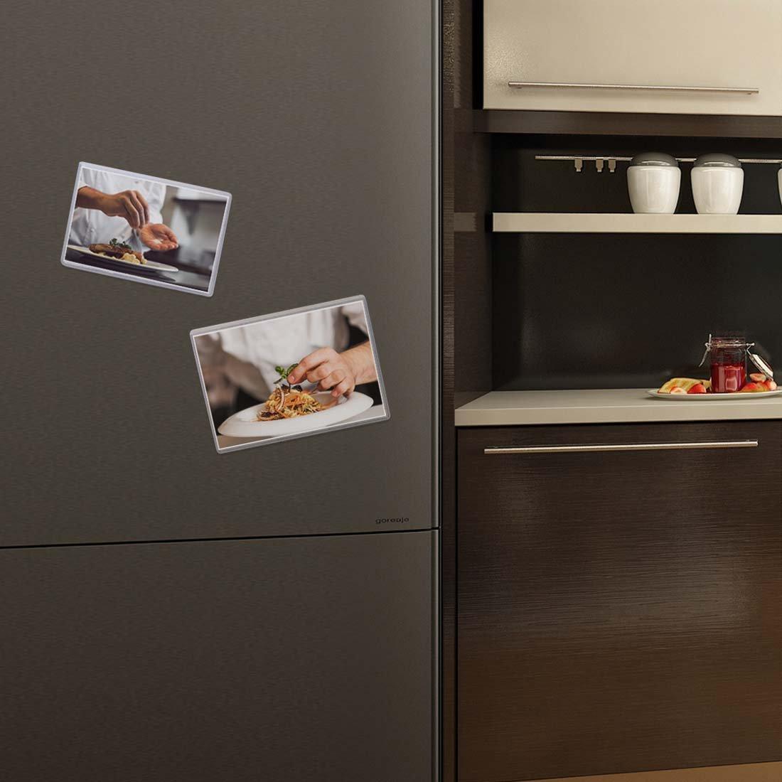 Avery Scheune 10-tlg. Kühlschrank Magnet Klar Tasche Foto Rahmen Set ...